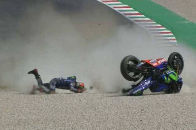MotoGP, altra doppietta Yamaha: Vinales in pole, Rossi secondo