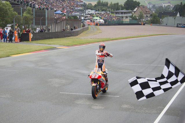 MotoGP: Marquez pigliatutto al Sachsenring. Valentino Rossi quinto