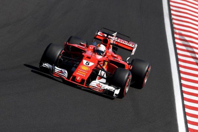 GP Ungheria, il jolly di Vettel: prima fila tutta rossa