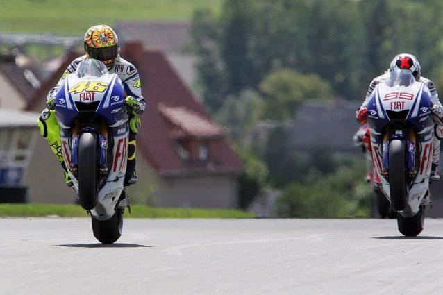 GP di Germania story, 2009: la lezione del Dottore nel duello di fuoco targato Yamaha