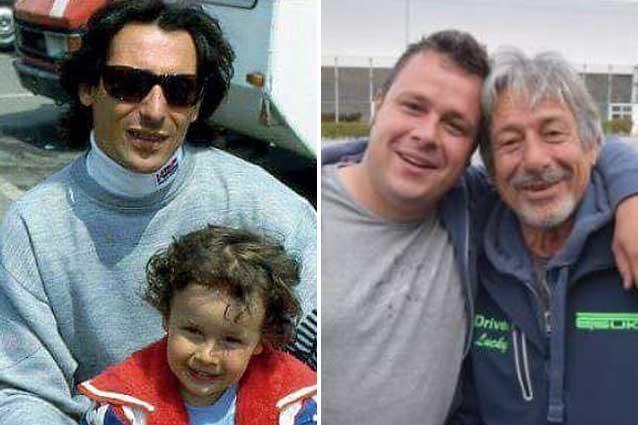 Il ricordo di Marco Lucchinelli pubblicato su Facebook. Accanto una recente foto dei due