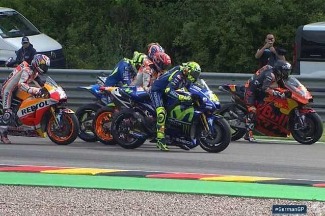 Prove di partenza per i piloti MotoGP / MotoGP.com