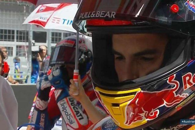 Piloti in griglia, Ducati con la soft
