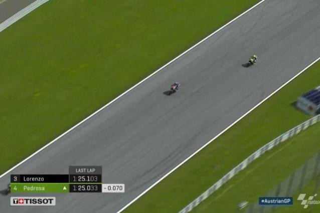 Anche Rossi sbaglia nella bagarre con Zarco, rientra dietro a Vinales