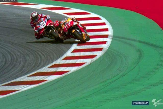 Marquez ci prova a modo suo, ma Dovi resiste e vince il GP!