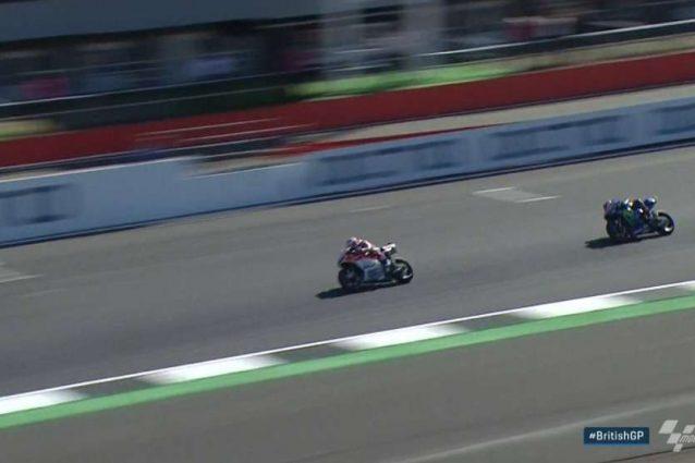 Dovizioso vince il Gp di Gran Bretagna, Vinales e Rossi sul podio