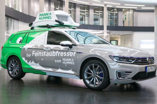 La Volkswagen Passat della Mann + Hummel