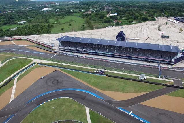 Il circuito di Buriram, conosciuto anche come Chang International Circuit, in Thailandia / GettyImages