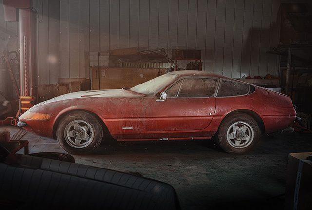 La Ferrari abbandonata che vale più di un milione di euro: ferma da oltre 40 anni