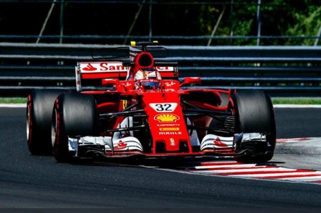 Leclerc in pista con la Ferrari – Foto Twitter @Scuderia Ferrari
