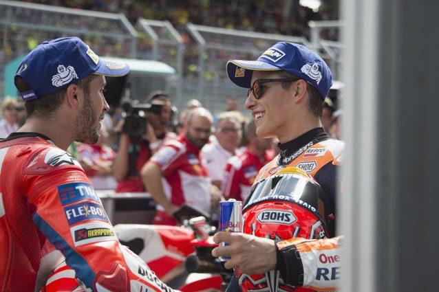 Marc Marquez e Andrea Dovizioso – Getty Images