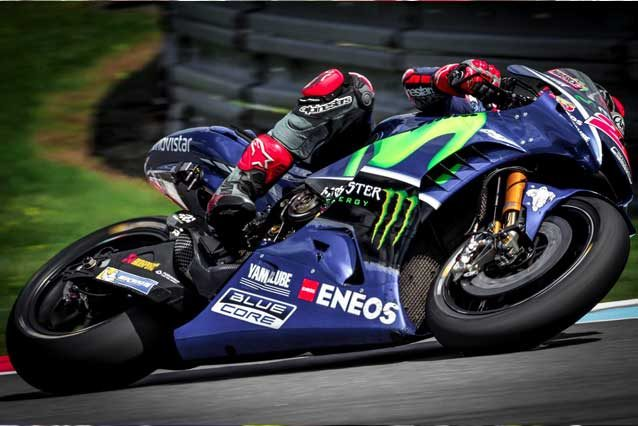La Yamaha di Maverick Vinales con la nuova carena aerodinamica / MotoGp.com