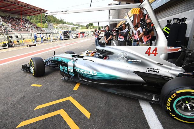 La Mercedes di Lewis Hamilton – Getty Images