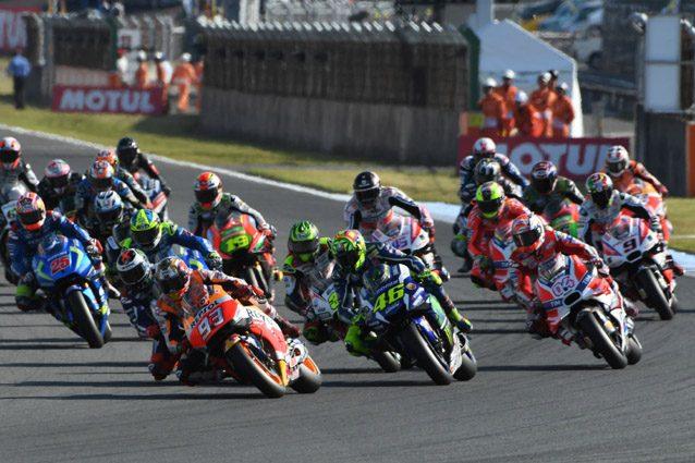 I piloti della MotoGP sul tracciato di Motegi – Getty Images