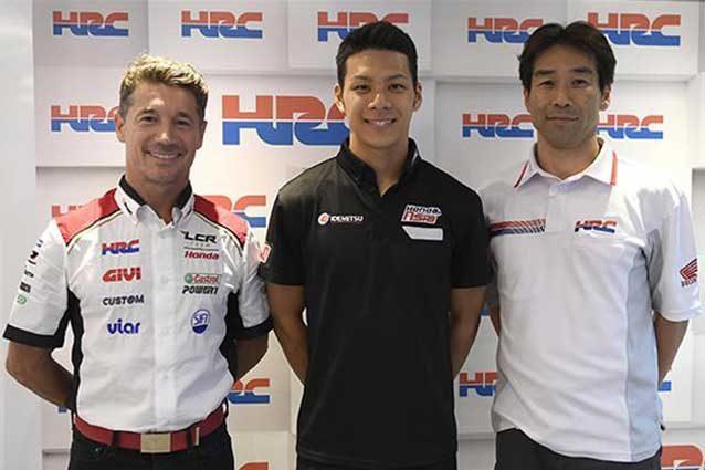 Ufficiale: la Honda LCR raddoppia con Nakagami nel 2018