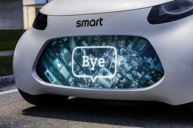 Smart Vision EQ Fortwo: la mobilità del futuro sarà autonoma e condivisa