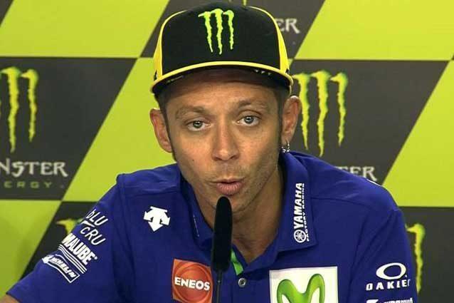 Valentino Rossi durante la conferenza stampa pre–evento a Brno / MotoGp.com