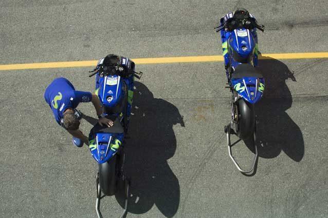 MotoGP, le Yamaha di Rossi e Vinales con livrea modificata a Silverstone e Misano