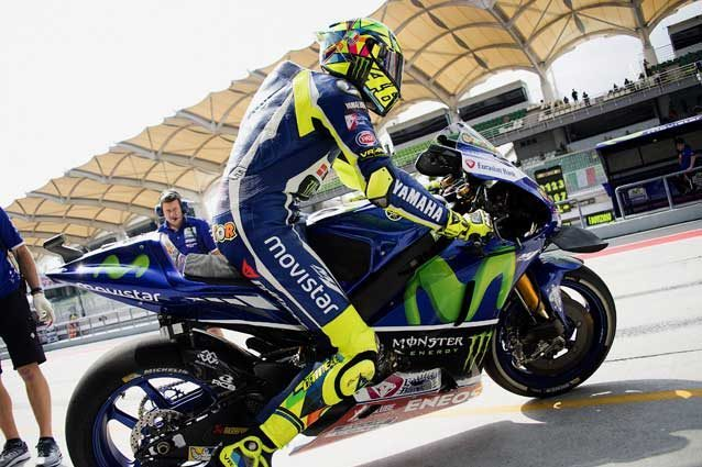 Valentino Rossi nei test di Sepang 2017 / GettyImages
