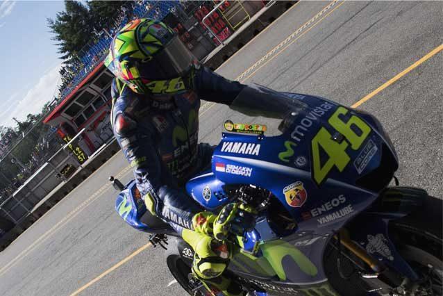 Valentino Rossi salterà il GP di Misano.