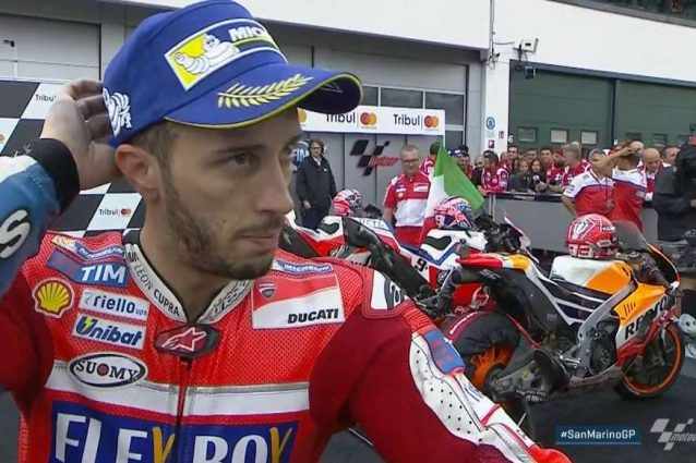 """Dovi: """"Prima volta sul podio a Misano, comunque contento"""""""