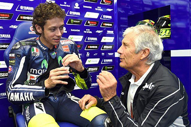 Giacomo Agostini e Valentino Rossi