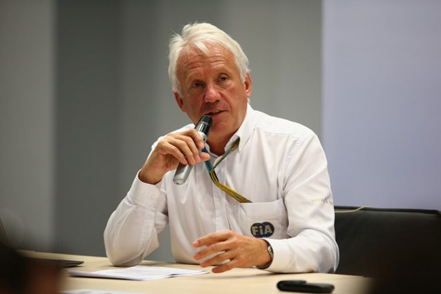 Charlie Whiting – Getty Images