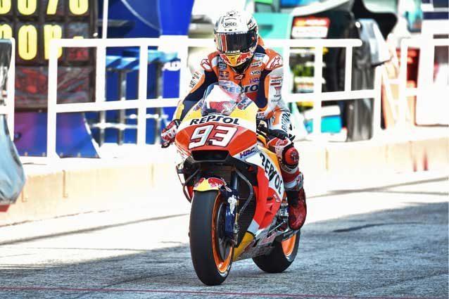 MotoGP Misano, Marquez ipoteca la pole. Iannone fuori dalla top ten