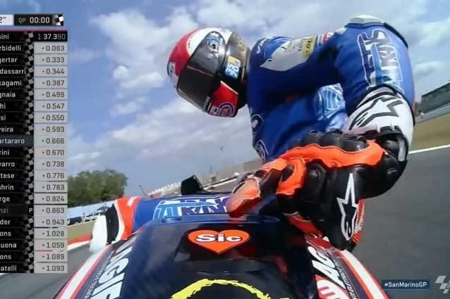 FP1: Miglior tempo e paura per Alex Marquez