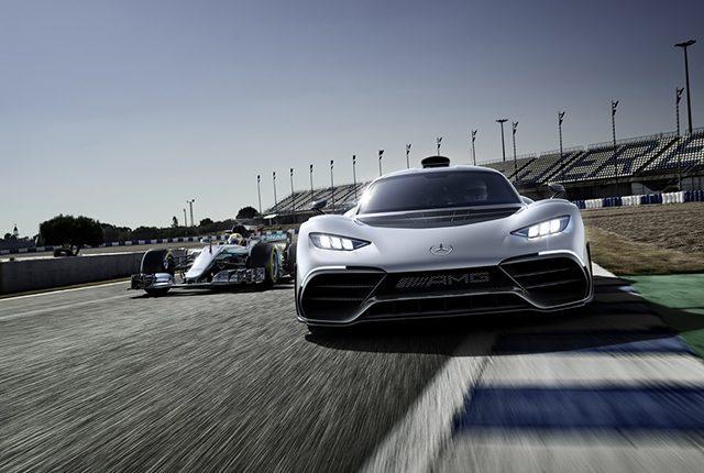 Mercedes-Amg Project One: ecco la Formula 1 stradale da 1.000 CV e 350 Km/h