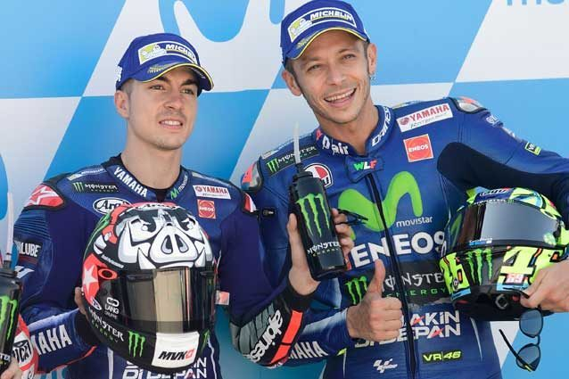 Maverick Vinales e Valentino Rossi / GettyImages