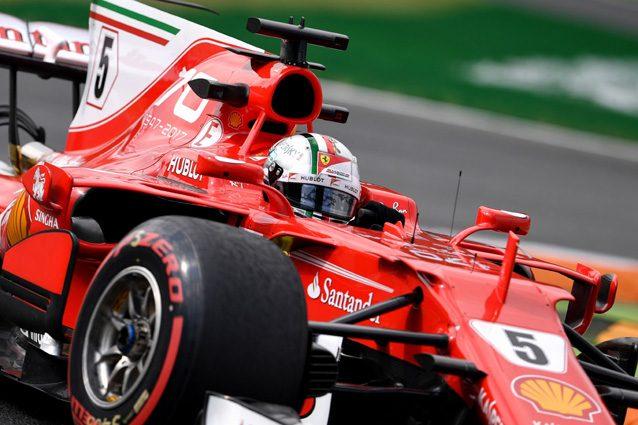 Vettel omaggia l'Italia, il tedesco in pista a Monza con un casco speciale