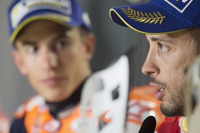 """MotoGP Dovizioso """"Marquez favorito ma lotteremo come sempre"""""""