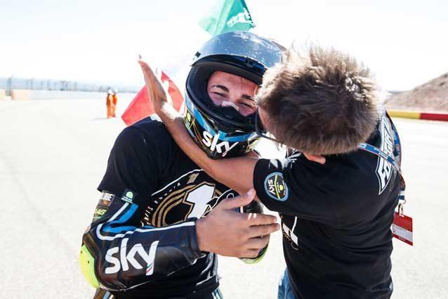 Moto3 Cev, Dennis Foggia campione del mondo Junior