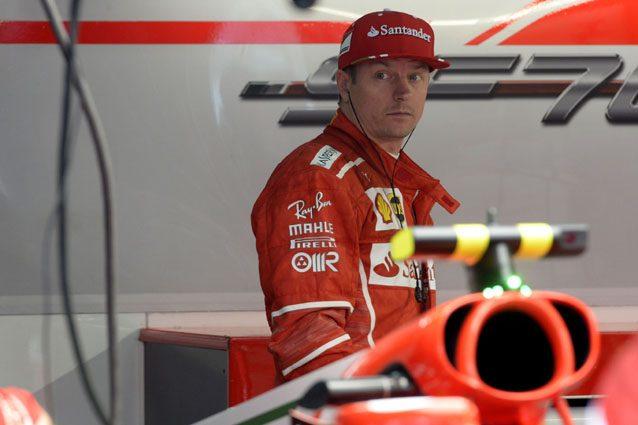 Kimi Raikkonen – Foto sito media Ferrari