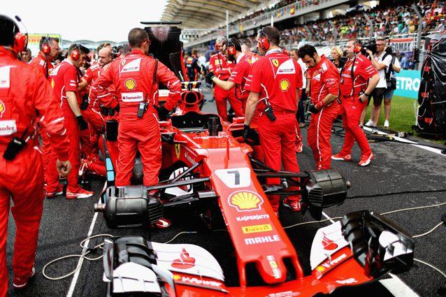 La Ferrari di Kimi Raikkonen in Malesia – Getty images