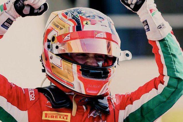 F2: Charles Leclerc trionfa a Jerez, diventa campione e dedica il successo al papà
