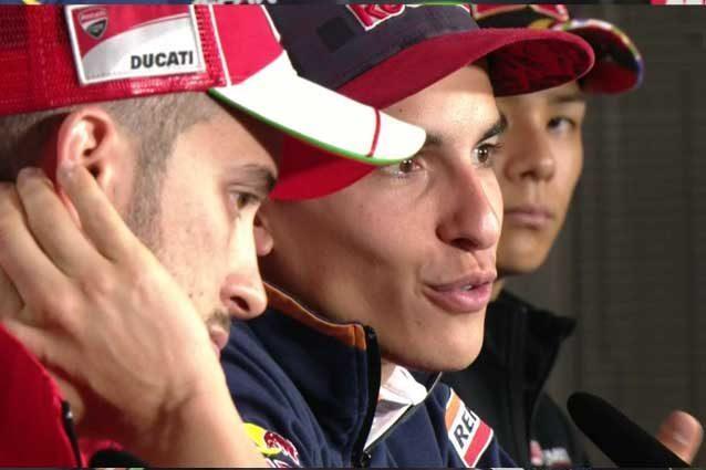 """MotoGP Motegi, Marquez: """"Meteo avversario in più"""" Dovi: """"Tutto può ancora accadere"""""""
