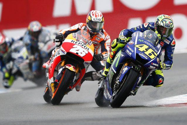 Valentino Rossi e Daniel Pedrosa – Getty Images