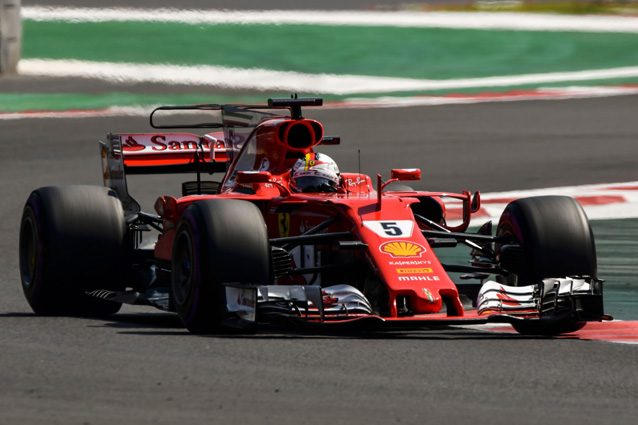 La Ferrari di Sebastian Vettel – Getty images