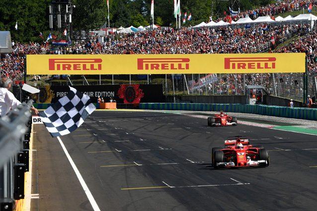 Le due Ferrari –Getty images