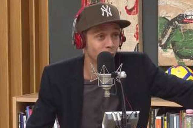 Valentino Rossi ai microfoni di Radio DeeJay