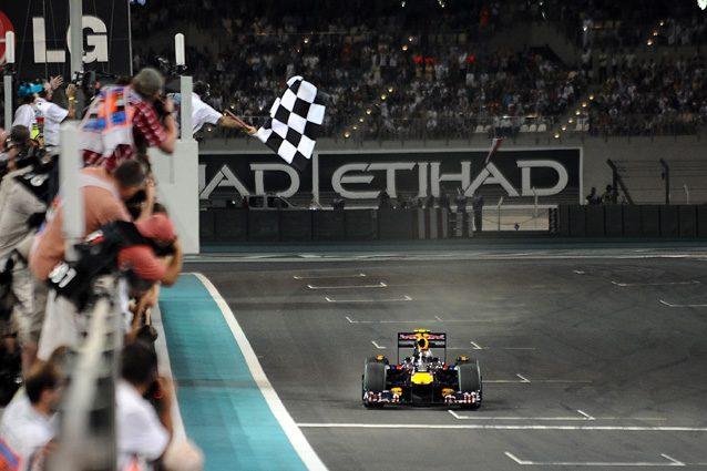 Sebastian Vettel vince il Gran Premio di Abu Dhabi del 2009 – Getty Images