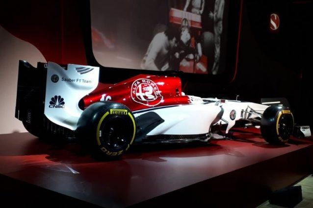 La nuova Alfa Romeo Sauber – Foto Twitter