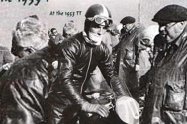 Alfredo Milani al TT 1953 / ozebook classic motorcycling