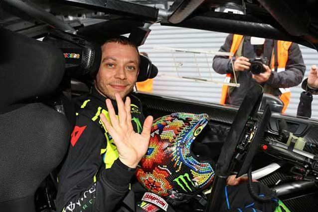 Valentino Rossi vince il Monza Rally Show 2017
