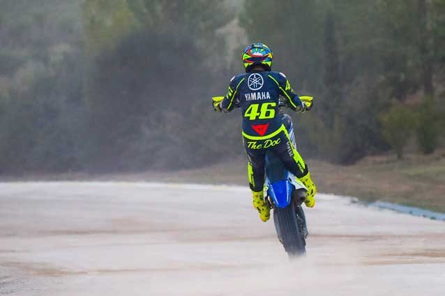 Valentino Rossi al Ranch / VR46 Official