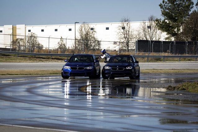 BMW M5, il drifting è record da Guinness