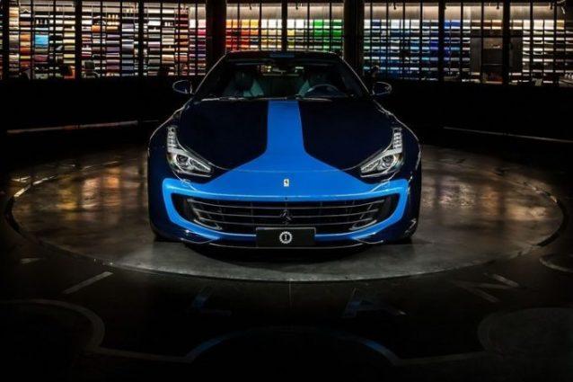 GTC4 Azzurra, un colore unico per la Ferrari di Lapo Elkann