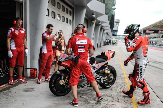 Jorge Lorenzo durante i test di Sepang / Getty Images